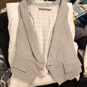 Zara grey vest